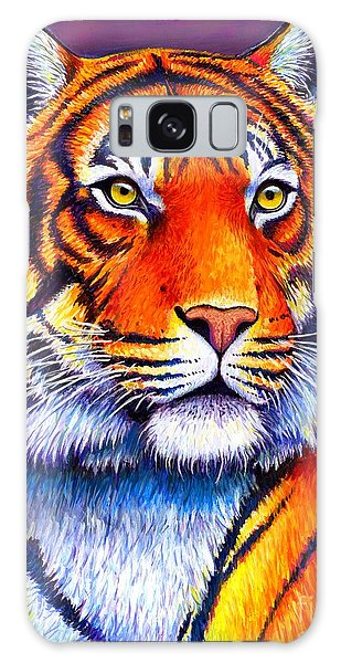 Fiery Beauty - Colorful Bengal Tiger Galaxy Case