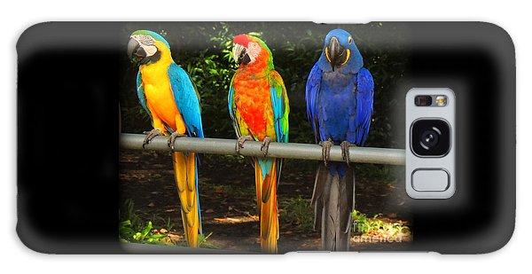 Colorful Trio Galaxy Case