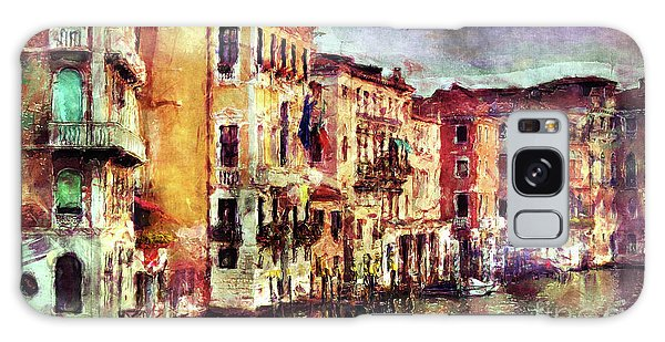 Colorful Venice Canal Galaxy Case