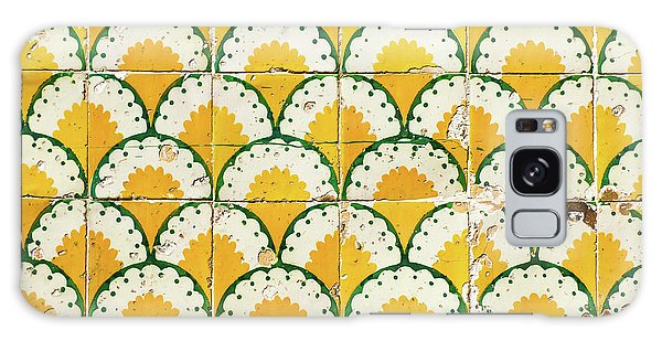 Colorful Vintage Portuguese Tiles Galaxy Case