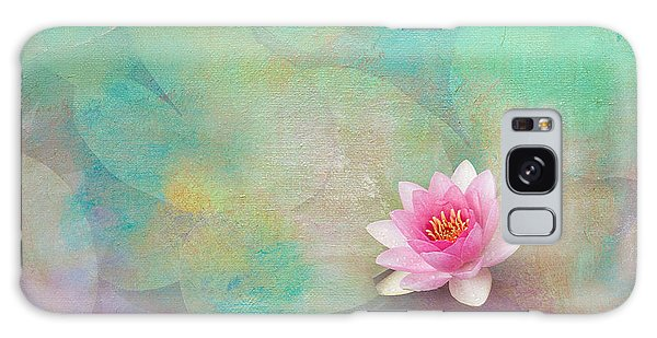 Colorful Waterlily Galaxy Case