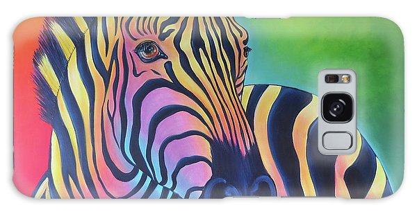 Colorful Zebra Galaxy Case