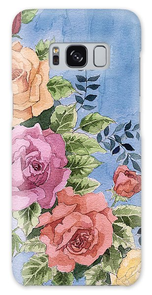 Colorfull Roses Galaxy Case
