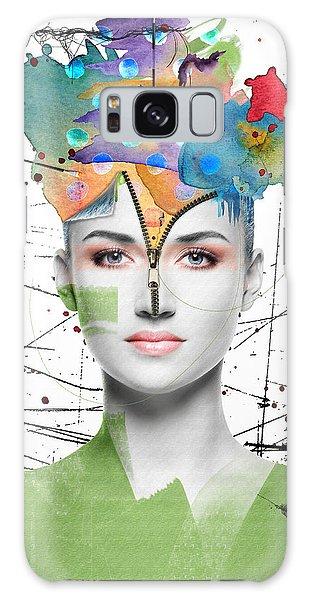 Colorist Galaxy Case by Nola Lee Kelsey