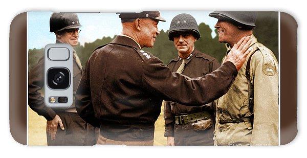 colorization WW2 Eisenhower Galaxy Case by John Wills