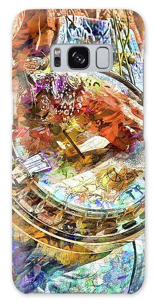 Colors Of A Banjo Busker Galaxy Case by John Haldane