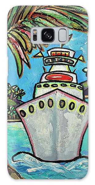 Colors Of Cruising Galaxy Case by Patti Schermerhorn