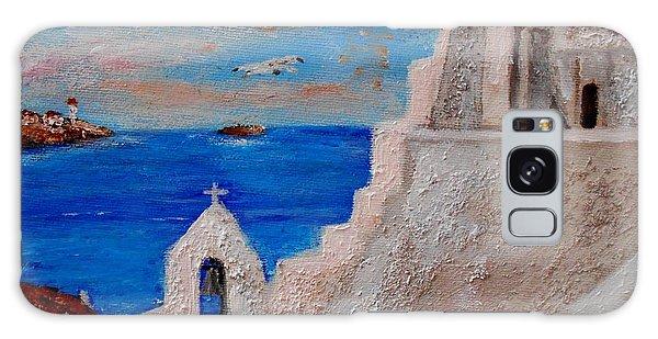 Colors Of Greece Galaxy Case