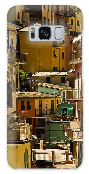 Colors Of Manarola Italy Galaxy Case