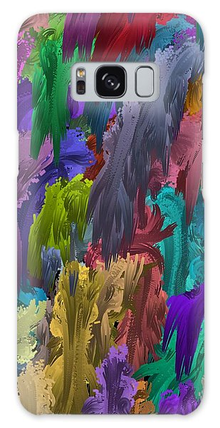 Colors Of Palette Water Colors Galaxy Case