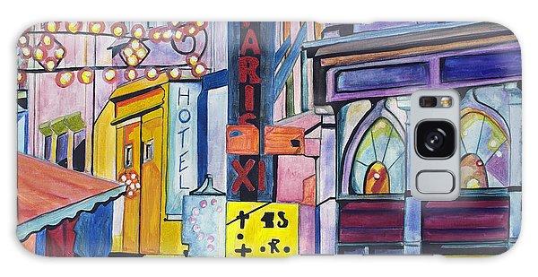 Colors Of Paris Galaxy Case by Patricia Arroyo