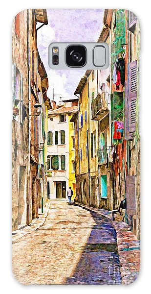 Colors Of Provence, France Galaxy Case