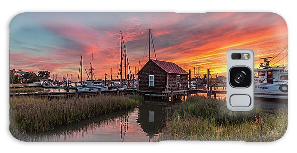 Colors Of Shem Creek - Mt. Pleasant Sc Galaxy Case