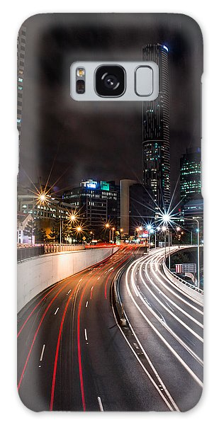 Colors Of The City Galaxy Case by Parker Cunningham