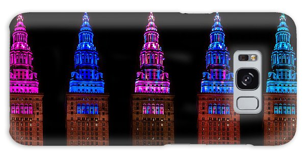 Colors Of The Terminal Tower Galaxy Case