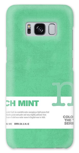March Galaxy Case - Colors Of The Year Series 03 Graphic Design March Mint by Design Turnpike