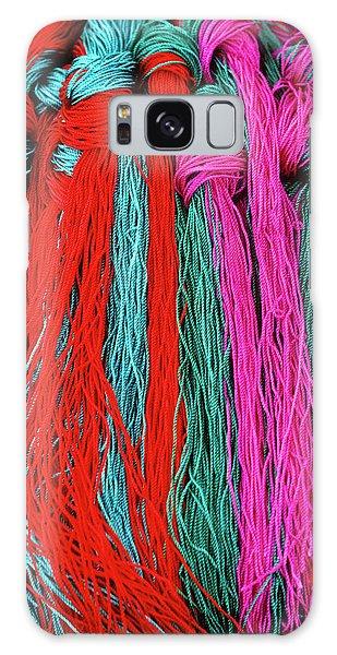 Colors Of Tibet Galaxy Case