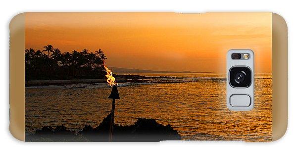 Colors Of Waikoloa Hawaii Galaxy Case by Kerri Ligatich