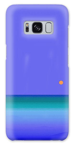 Colors Of Water Galaxy Case