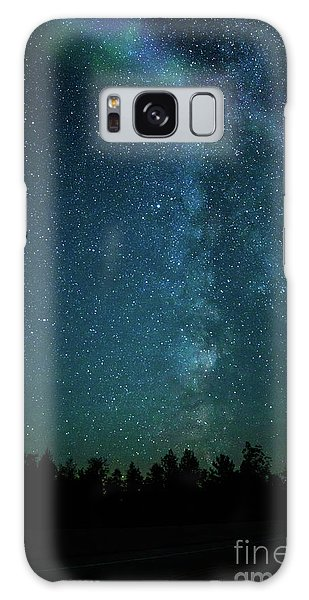 Colors Over The Milky Way Galaxy Case