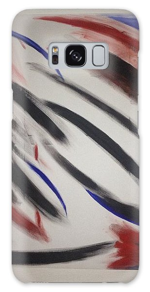 Abstract Colors Galaxy Case by Sheila Mcdonald