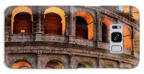 Colosseum In Rome, Italy Galaxy Case
