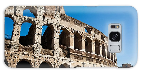 Colosseum - Old And New Galaxy Case by Ed Cilley