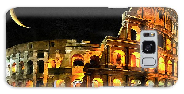 Colosseum Under The Moon Galaxy Case