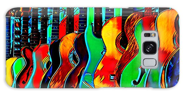 Galaxy Case featuring the digital art Colour Of Music by Pennie McCracken