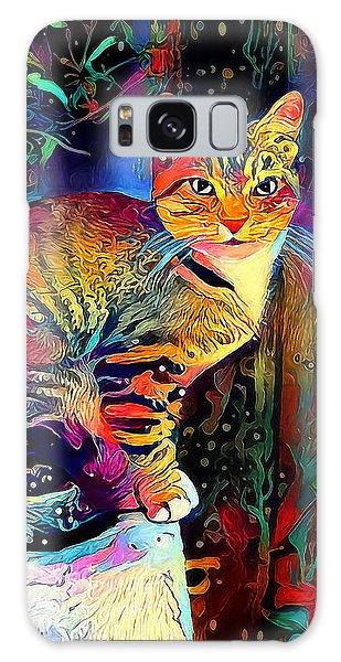 Colourful Calico Galaxy Case