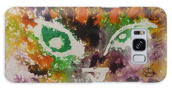 Colourful Cat Face Galaxy Case