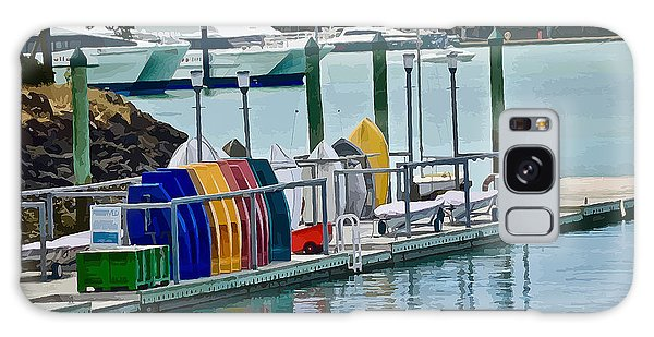 Colourful Dinghies Auckland Galaxy Case
