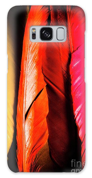 Natural Galaxy Case - Colourful Feather Art by Jorgo Photography - Wall Art Gallery