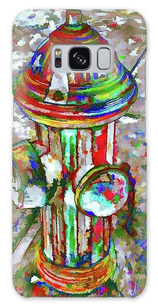 Colourful Hydrant Galaxy Case