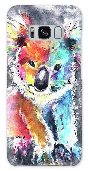 Colourful Koala Galaxy Case