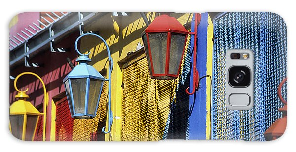 Colourful Lamps La Boca Buenos Aires Galaxy Case