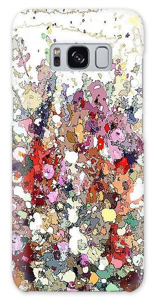 Colourful Meadow Iv Galaxy Case