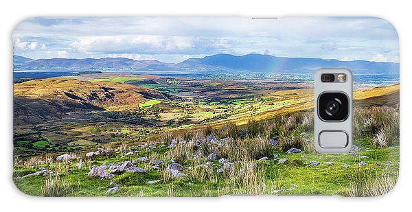 Colourful Undulating Irish Landscape In Kerry  Galaxy Case by Semmick Photo