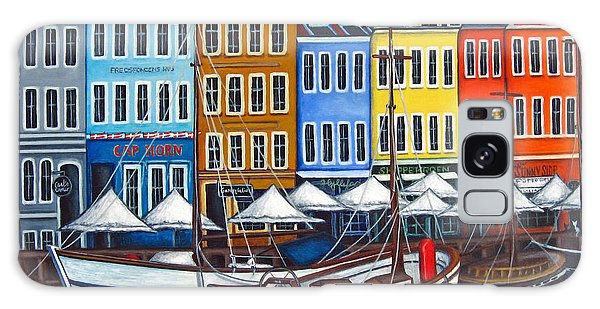 Colours Of Nyhavn Galaxy Case