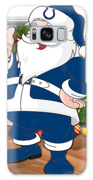 Santa Claus Galaxy Case - Colts Santa Claus by Joe Hamilton