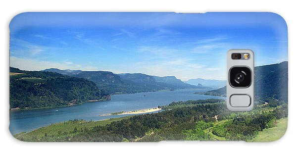 Columbia Gorge Galaxy Case by Irina Hays