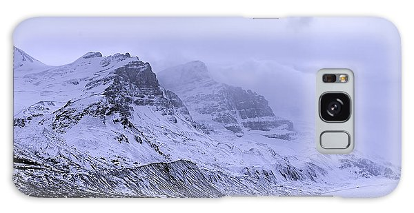 Galaxy Case featuring the photograph Columbia Ice Fields by John Gilbert