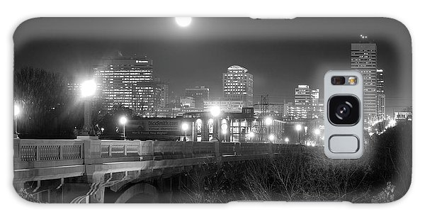 Columbia Skyline At Night Galaxy Case