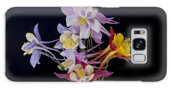 Columbine Medley Galaxy Case by Gary Lengyel