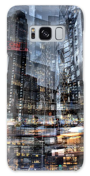 Galaxy Case featuring the photograph Columbus Circle Collage 1 by Dave Beckerman