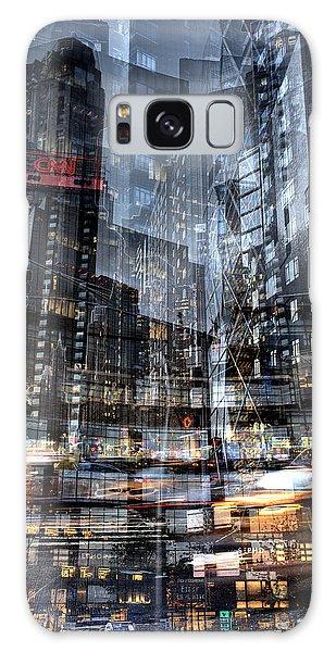 Columbus Circle Collage 1 Galaxy Case by Dave Beckerman