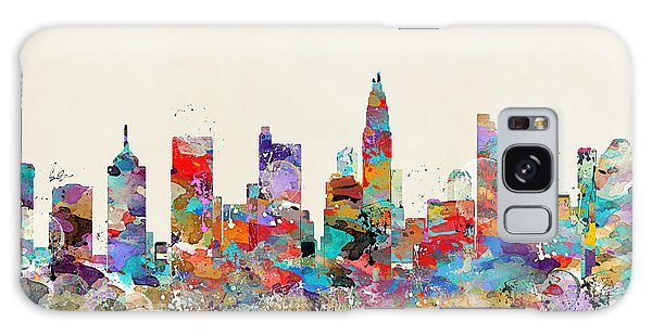 columbus Ohio skyline Galaxy Case