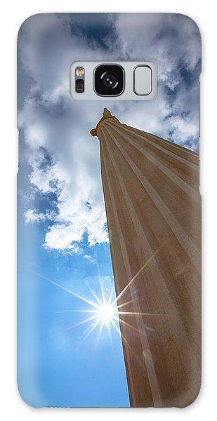 Column To Sky Galaxy Case
