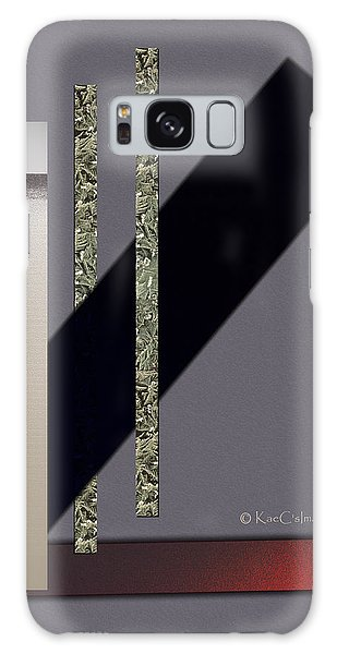 Columns And Spaces Galaxy Case