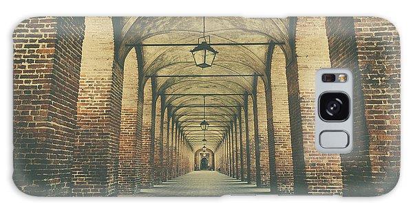 Columns In Sabbionetta, Italy Galaxy Case